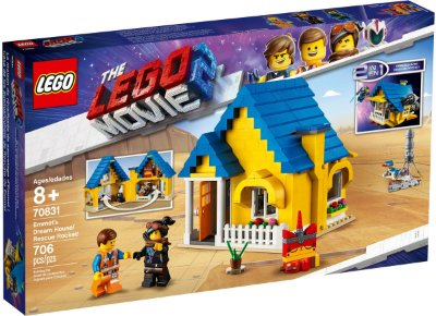 LEGO MOVIE 2 70831 EMMET'S DREAM HOUSE/RESCUE ROCKET