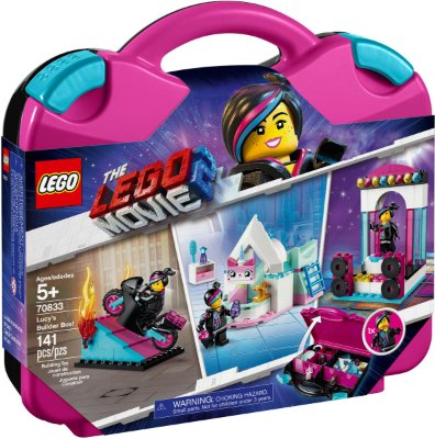 LEGO MOVIE 2 70833 LUCY'S BUILDER BOX