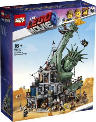 LEGO MOVIE 2 70840 WELCOME TO APOCALYPSEBURG