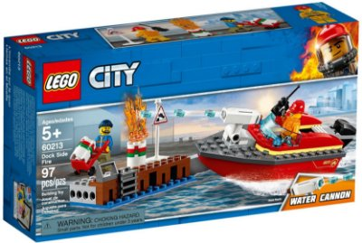 LEGO CITY 60213 DOCK SIDE FIRE