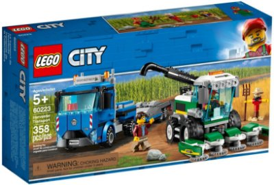 LEGO CITY 60223 HARVESTER TRANSPORT