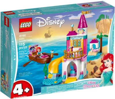 LEGO DISNEY 41160 ARIEL'S SEASIDE CASTLE