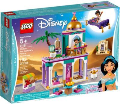 LEGO DISNEY 41161 ALADDIN AND JASMINE'S PALACE ADVENTURES