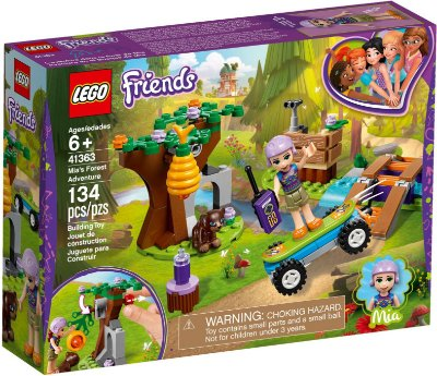 LEGO FRIENDS 41363 MIA'S FOREST ADVENTURES