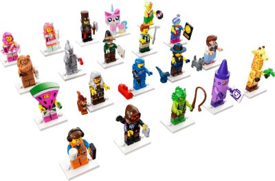 LEGO MINIFIGURES 71023 THE LEGO MOVIE 2