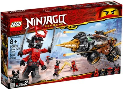 LEGO NINJAGO 70669 COLE'S EARTH DRILLER