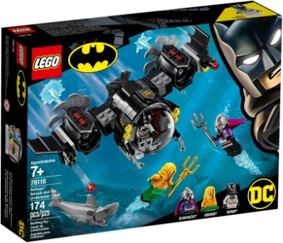 LEGO SUPER HEROES 76116 BATMAN BATSUB AND THE UNDERWATER CLASH