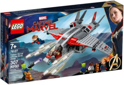 LEGO SUPER HEROES 76127 CAPTAIN MARVEL AND THE SKRULL ATTACK