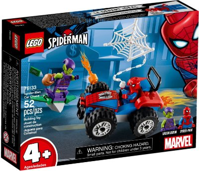 LEGO SUPER HEROES 76133 SPIDER-MAN CAR CHASE