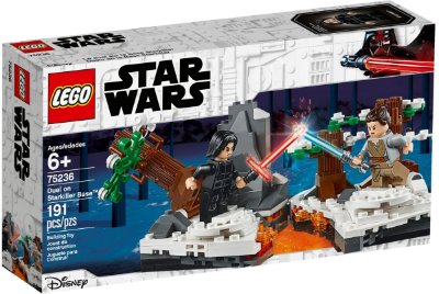 LEGO STAR WARS 75236 DUEL ON STARKILLER BASE