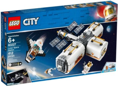 LEGO CITY 60227 LUNAR SPACE STATION