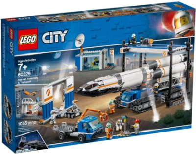 LEGO CITY 60229 ROCKET ASSEMBLY &TRANSPORT