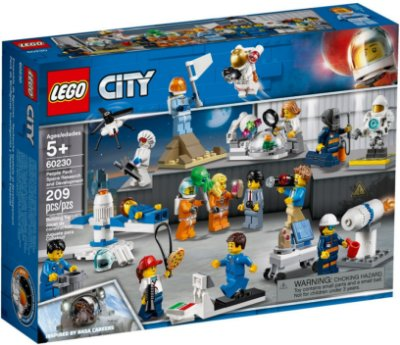 LEGO CITY 60230 PEOPLE PACK - SPACE RESEARCH AND DEVELOPMENT