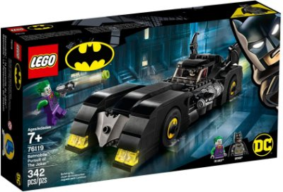 LEGO SUPER HEROES 76119 BATMOBILE PURSUIT OF THE JOKER