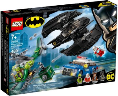 LEGO SUPER HEROES 76120 BATMAN BATWING AND THE RIDDLER HEIST