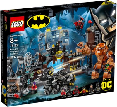LEGO SUPER HEROES 76122 BATCAVE CLAYFACE INVASION