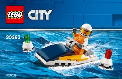 LEGO CITY 30363 RACE BOAT
