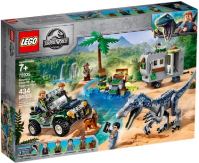 LEGO JURASSIC WORLD 75935 BARYONYX FACE-OFF: THE TREASURE HUNT