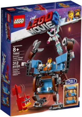 LEGO MOVIE 2 70842 EMMET'S TRIPLE-DECKER COUCH MECH