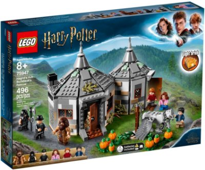 LEGO HARRY POTTER 75947 HAGRIDS HUT: BUCKBEAKS RESCUE