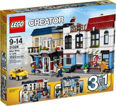 LEGO CREATOR 31026 BIKE SHOP & CAFE