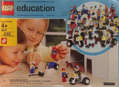LEGO EDUCATION 9247 COMMUNITY WORKERS