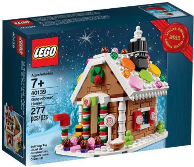LEGO EXCLUSIVOS 40139 GINGERBREAD HOUSE