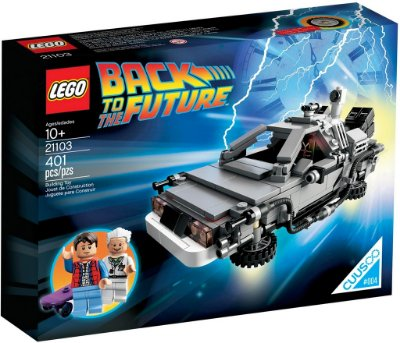LEGO IDEAS 21103 THE DELOREAN TIME MACHINE