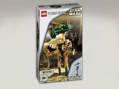 LEGO STAR WARS 8000 PIT DROID
