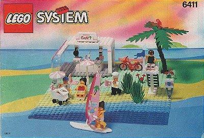LEGO SYSTEM PARADISA 6411 SAND DOLLAR CAFÉ