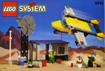 LEGO SYSTEM 6444 OUTBACK AIRSTRIP