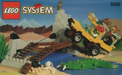LEGO SYSTEM 6490 AMAZON CROSSING