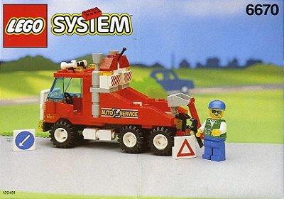LEGO SYSTEM 6670 RESCUE RIG