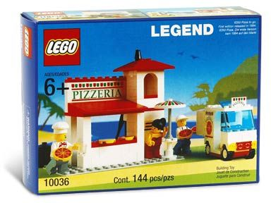 LEGO CITY 10036 PIZZA-TO-GO