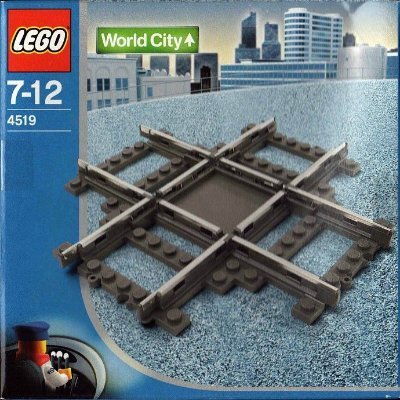 LEGO WORLD CITY 4519 RAIL CROSSING