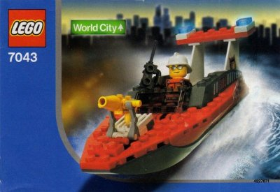 LEGO WORLD CITY 7043 FIREFIGHTER