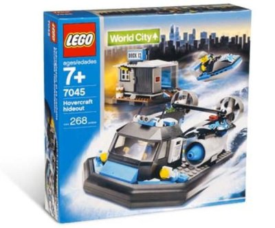 LEGO WORLD CITY 7045 HOVERCRAFT HIDEOUT