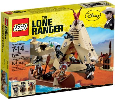 LEGO THE LONE RANGER 79107 COMANCHE CAMP