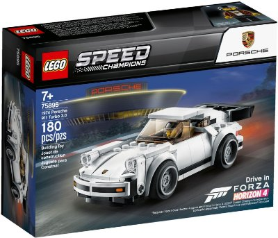 LEGO SPEED CHAMPIONS 75895 PORSCHE 911 TURBO 3.0 1974