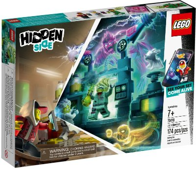 LEGO HIDDEN SIDE 70418 J.B.'S GHOST LAB