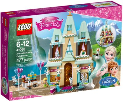 LEGO DISNEY 41068 ARENDELLE CASTLE CELEBRATION
