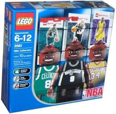 LEGO SPORTS 3561 NBA COLLECTORS # 2