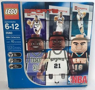 LEGO SPORTS 3560 NBA COLLECTORS # 1