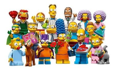 LEGO MINIFIGURES 71009 THE SIMPSONS SERIES 2 (COLEÇÃO COMPLETA)