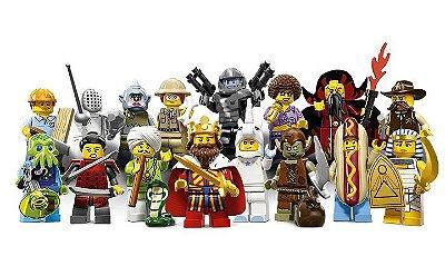 LEGO MINIFIGURES 71008 SERIE 13 (COLEÇÃO COMPLETA)