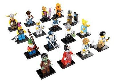 LEGO MINIFIGURES 8804 SERIE 4 (COLEÇÃO COMPLETA)