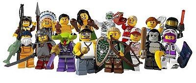 LEGO MINIFIGURES 8803 SERIE 3 (COLEÇÃO COMPLETA)