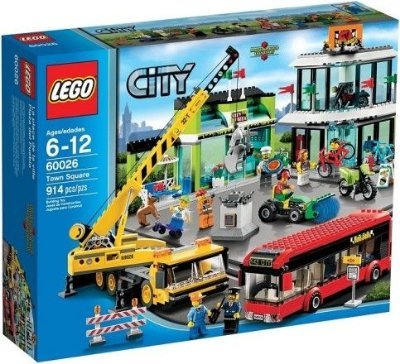 LEGO CITY 60026 TOWN SQUARE