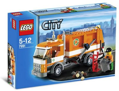 LEGO CITY 7991 RECYCLE TRUCK