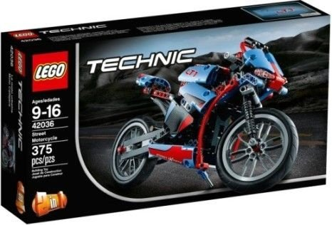 LEGO TECHNIC 42036 STREET MOTORCYCLE